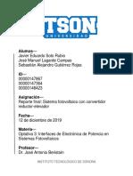 Implementación de convertidor reductor-elevador para panel solar