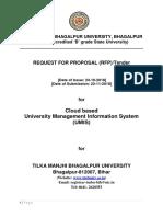 Umis Rfp Tmbu Revised