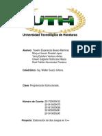 INFORME DE PROGRAMACION ESTRUCTURADA