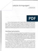 Aquisição da Linguagem - Manual de Linguística