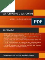 Sulfonamidas o Sulfomidas