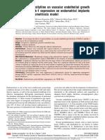 Pentoxifylline endometriosis