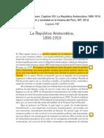 Peter Klaren - La Republica Aristocratica 2