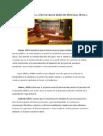 Derecho Procesal Penal Peruano