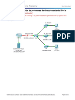 7.3.2.9 Packet Tracer - Troubleshooting IPv4 and IPv6 Addressing - ILM-convertido