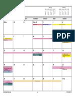 sec calendar planning