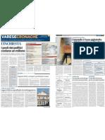 La Provincia di Varese - Inchiesta, I posti dei politici costano un milione