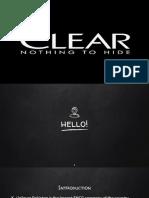 Clear Uzair