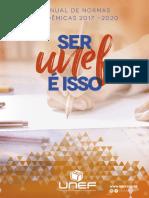 Manual de Trabalhos Acadêmicos - Unef - 2017 - 2020