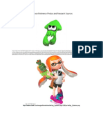 splatoon reference photos