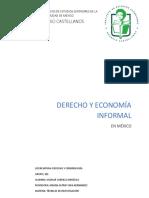 Investigación sobre la economía informal