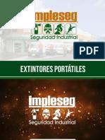 Presentacion Extintores Portatiles Impleseg 2019