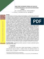 Distribuição de Frequência e Temporal de Chuvas Intensas Feira de Santana Ba