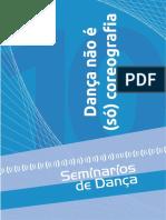 Livro x Seminarios 2016 Danca Nao e So Coreografia PDF