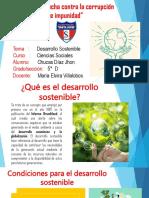 Desarrollo sostenible  Jhon chucas.pptx