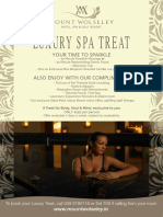 Day Spa Offer 2018