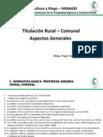 01 Titulacion Rural, Aspectos Generales