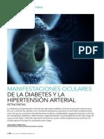 manifestaciones oculares de la diabetes e hipertensión arterial