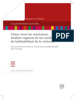 Alicia Ziccardi-Como viven los mexicanos. Análisis regional de las condiciones...