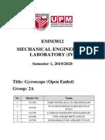 Lab 14 - Gyroscope