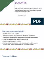 3. a Penjelasan IPK