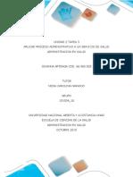 Unidad 2 Tarea 3 Proceso Administrativo a Un Servicio de Salud_jovanna_arteaga