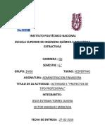 Actividad 1-3 Administracion Financiera