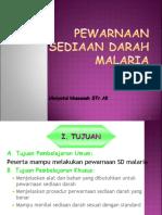 3. PEWARNAAN SEDIAAN DARAH MALARIA.ppt
