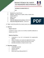 Informe 1 de Servomecanismos - Cañarte-España-Gualtor-Pantoja