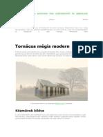 Bemutatjuk egy autonóm ház vázlattervét és gépészeti koncepcióját