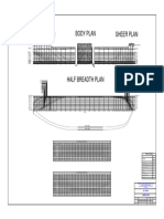 Lines Plan contoh Gambar