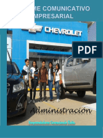 Informe Chevrolet