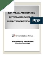 GUIA PRESENTACION PROYECTOS DE INVESTIGACION 2015 (1)