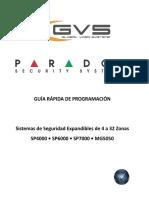 MG-SP GUÍA RÁPIDA DE PROGRAMACIÓN GVS!!!! (1)