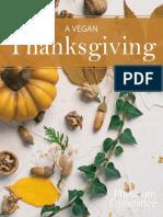 A Vegan Thanksgiving eBook