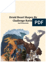 Druid (Circle of the Moon) Beasts Full