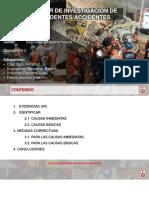 GRUPO 2-INVESTIGACION DE ACCIDENTES