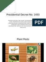 Plant Quarantine