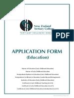 NZTC Application Form (Education) v 16 1 Editable