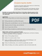 landlord-property-inspection-checklist