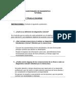 4.2.1 Cuestionario de Diagnostico Tutorial - Issanelly Trujillo Zacarias