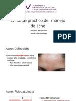 Enfoque practico del manejo de acné