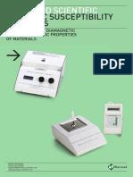 Magnetic Susceptibility Balance Brochure