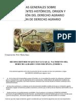 Antecedentes Derecho Agrario