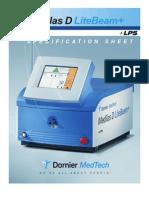 Data Sheet Dornier Medilas D LiteBeam+