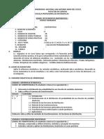 Silabu de Estadistica Matematica i - Matematica-2017-2