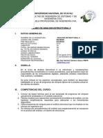 SILLABUS ANALISIS ESTRUCTURAL II - UNU 2019.docx