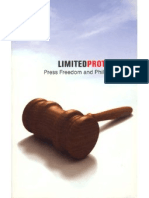 Limited Protection - Press Freedom and Philippine Law