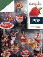 Eiskarten Standard Erdbeer 1 KSTD 007