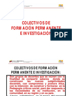COLECTIVOS DE FORMACIÓN